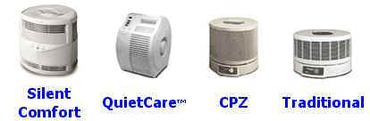 Honeywell Air Cleaner Models Silent Comfort, QuiteCare, CPZ, & Traditional