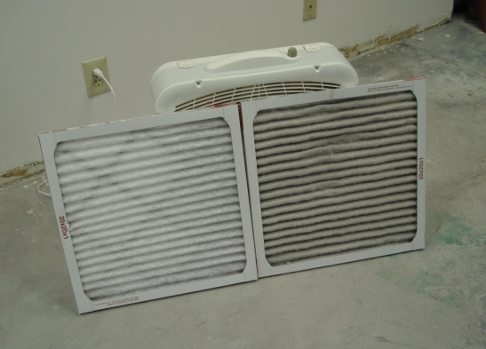 Box Fan Air Filter Air Cleaner